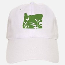 Green Oregon Baseball Baseball Cap