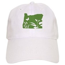 Green Oregon Baseball Cap
