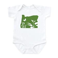 Green Oregon Onesie