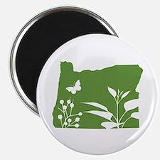 Green Oregon Magnet