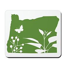 Green Oregon Mousepad