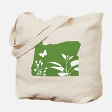 Green Oregon Tote Bag