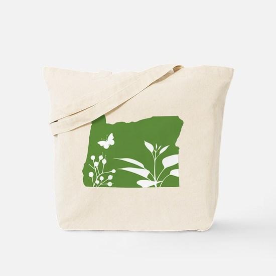 Green Oregon Tote Bag