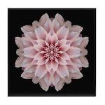 Pink Dahlia I Tile Coaster
