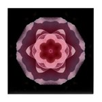 Pink Rose I Tile Coaster