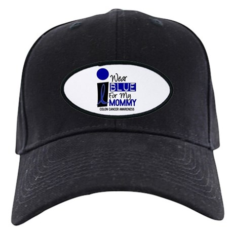 I Wear Blue For My Mommy 9 CC Black Cap