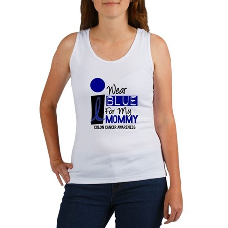 I Wear Blue For My Mommy 9 CC Women's Tank Top