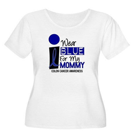 I Wear Blue For My Mommy 9 CC Women's Plus Size Sc