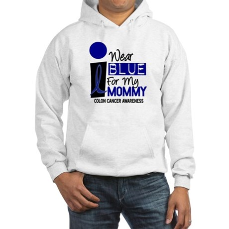 I Wear Blue For My Mommy 9 CC Hooded Sweatshirt