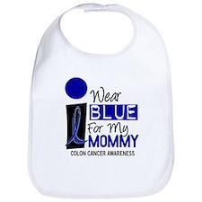 I Wear Blue For My Mommy 9 CC Bib