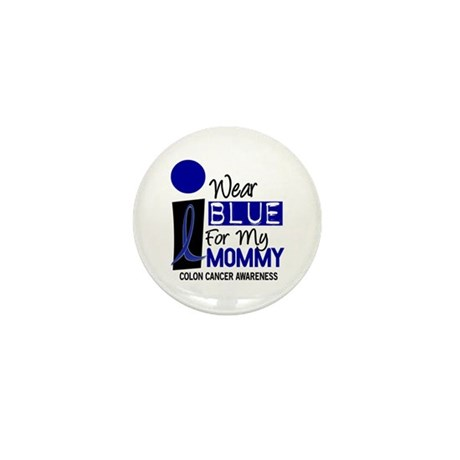 I Wear Blue For My Mommy 9 CC Mini Button (10 pack