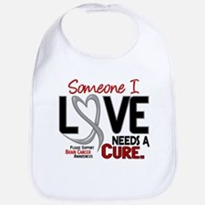 Needs A Cure 2 BRAIN CANCER Bib