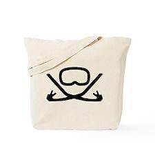 Goggles and Snorkel Tote Bag