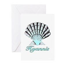 Hyannis Shell Greeting Cards (Pk of 10)