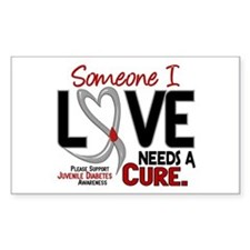 Needs A Cure 2 JUVENILE DIABETES Decal