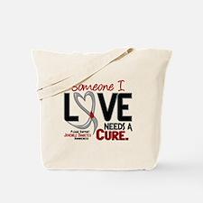 Needs A Cure 2 JUVENILE DIABETES Tote Bag