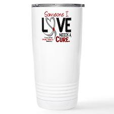 Needs A Cure 2 JUVENILE DIABETES Travel Mug