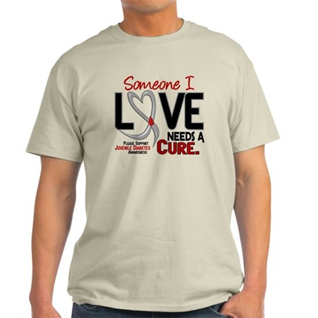 Needs A Cure 2 JUVENILE DIABETES Light T-Shirt