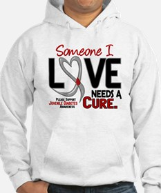 Needs A Cure 2 JUVENILE DIABETES Hoodie