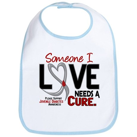 Needs A Cure 2 JUVENILE DIABETES Bib