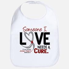 Needs A Cure 2 JUVENILE DIABETES Bib