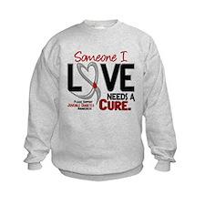 Needs A Cure 2 JUVENILE DIABETES Sweatshirt