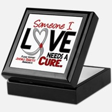 Needs A Cure 2 JUVENILE DIABETES Keepsake Box
