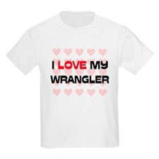 I Love My Wrangler T-Shirt