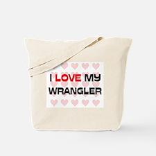 I Love My Wrangler Tote Bag