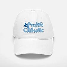 Prolife Catholic Cross Baseball Baseball Cap