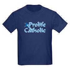 Prolife Catholic Cross T