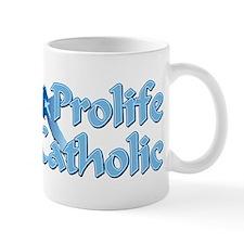 Prolife Catholic Cross Mug
