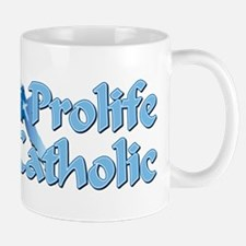 Prolife Catholic Cross Mug