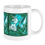 Unicorn and the Green Sea Mug