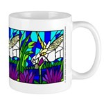 Unicorn and Water Lilies Mug