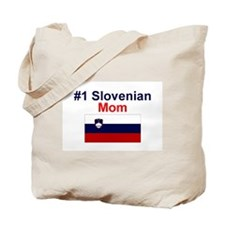 #1 Slovenian Mom Tote Bag