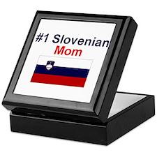 #1 Slovenian Mom Keepsake Box