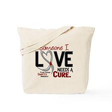 Needs A Cure 2 DIABETES Tote Bag