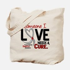 Needs A Cure 2 DIABETES Tote Bag