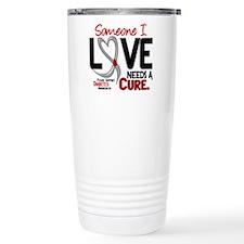 Needs A Cure 2 DIABETES Travel Mug