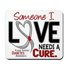 Needs A Cure 2 DIABETES Mousepad