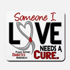 Needs A Cure 2 DIABETES Mousepad