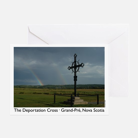 Deportation Cross Greeting Card
