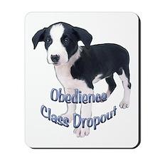 fox terrier obedience Mousepad
