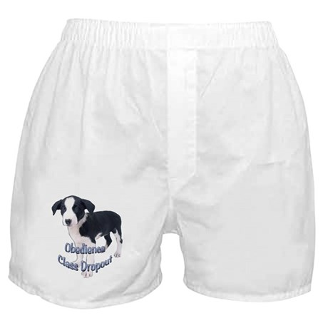 fox terrier obedience Boxer Shorts
