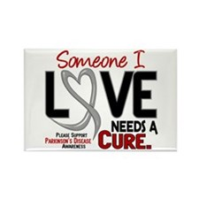 Needs A Cure 2 PARKINSONS Rectangle Magnet