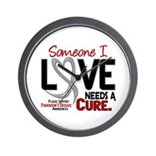 Needs A Cure 2 PARKINSONS Wall Clock