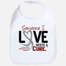Needs A Cure 2 PARKINSONS Bib
