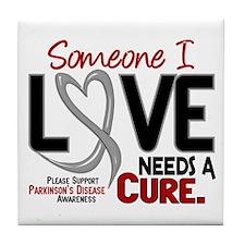 Needs A Cure 2 PARKINSONS Tile Coaster