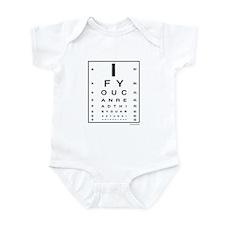 Too Close! Infant Bodysuit